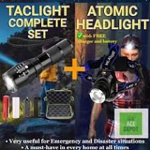 Latarka taktyczna Atomic Beam - producent - zamiennik - premium - ulotka